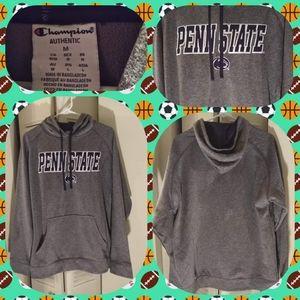 Champion Penn State pullover hoodie grey medium $4